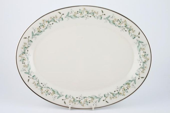 Royal Doulton Woodland Glade - T.C.1124 Oval Plate / Platter 13 1/4""