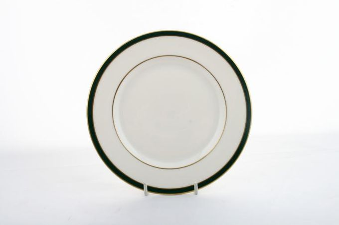 """Royal Doulton Oxford Green - T.C.1191 Breakfast / Salad / Luncheon Plate 8 3/4"""""""
