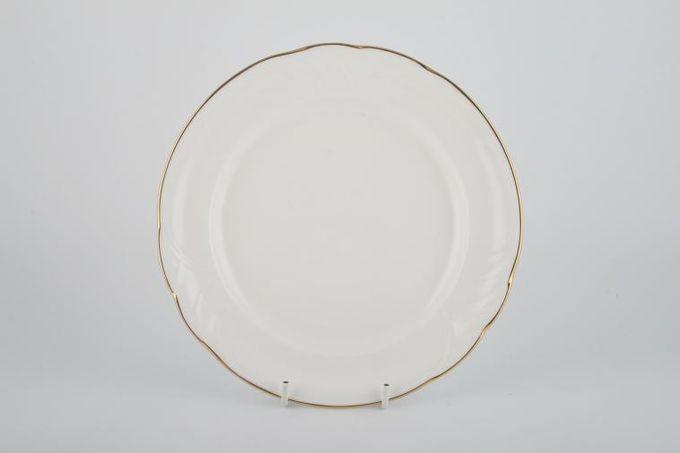 "Royal Doulton Tiara - white+gold - H5174 Starter / Salad / Dessert Plate 8 1/4"""