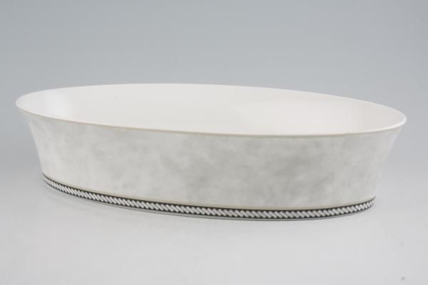 """Royal Doulton Fusion - Rock Vegetable Dish (Open) Oval 12 1/4"""""""