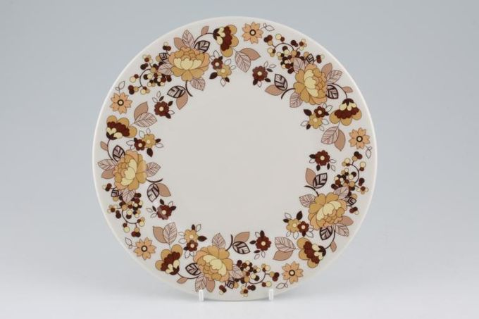 """Royal Doulton Indian Summer - T.C.1099 Breakfast / Salad / Luncheon Plate 8 3/4"""""""