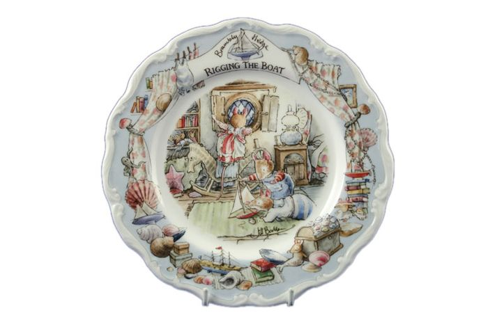 Royal Doulton Brambly Hedge - Rigging The Boat