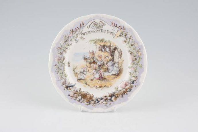 Royal Doulton Brambly Hedge - Meeting On The Sand