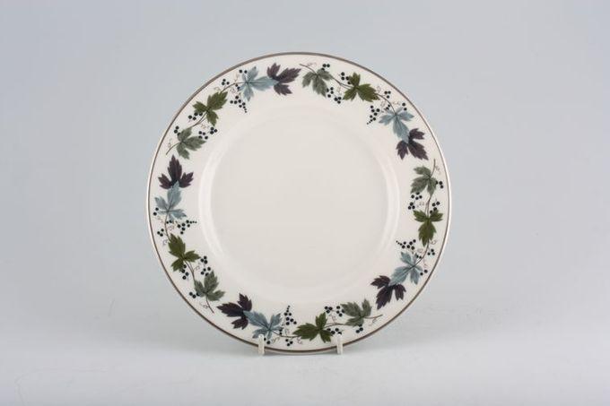 "Royal Doulton Burgundy - T.C.1001 Breakfast / Salad / Luncheon Plate 9"""