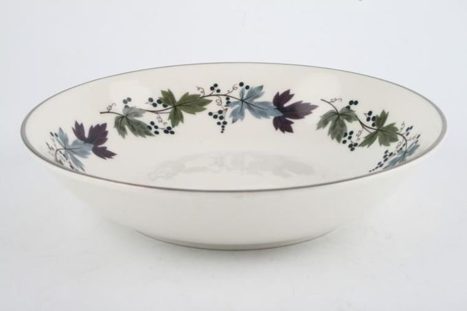 """Royal Doulton Burgundy - T.C.1001 Oatmeal / Cereal / Soup 6 7/8"""""""