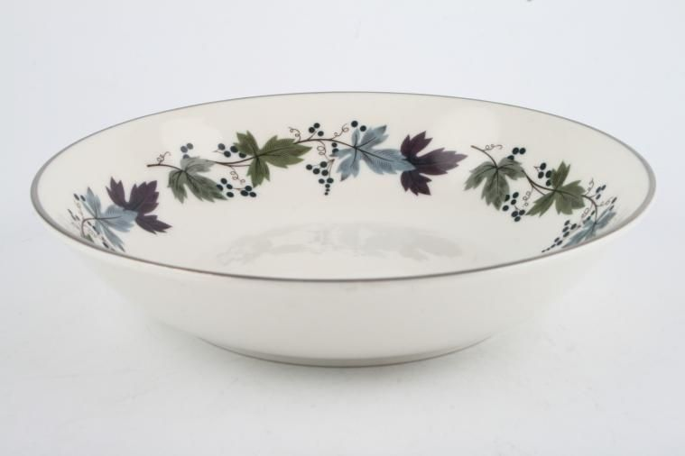Royal Doulton - Burgundy - T.C.1001 - Oatmeal / Cereal / Soup
