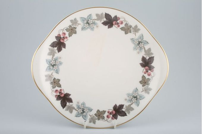 """Royal Doulton Camelot - T.C.1016 Cake Plate eared 10 3/8"""""""