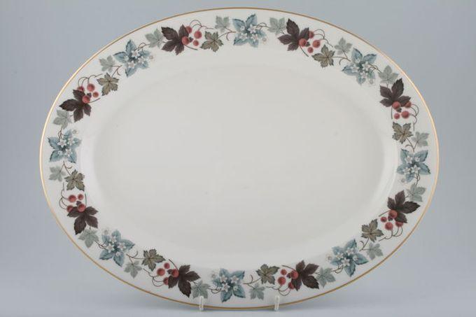"Royal Doulton Camelot - T.C.1016 Oval Plate / Platter 16"""