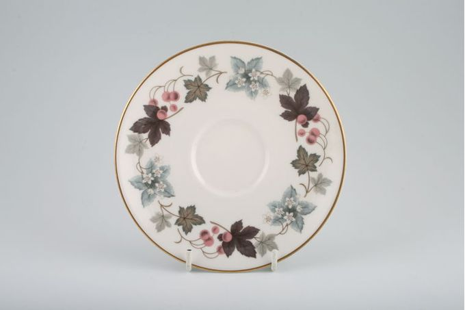 Royal Doulton Camelot - T.C.1016 Tea Saucer Early style is flatter than later style. 6 1/8""