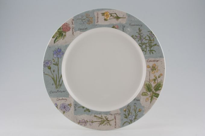 Royal Doulton Wildflowers - T.C.1219 Dinner Plate 11""
