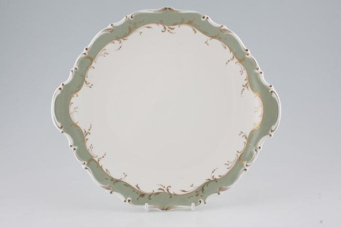 """Royal Doulton Fontainebleau - H4978 Cake Plate eared 10 3/8"""""""