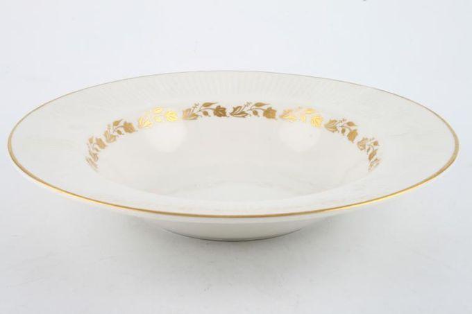 "Royal Doulton Fairfax - T.C.1006 Rimmed Bowl 8"""