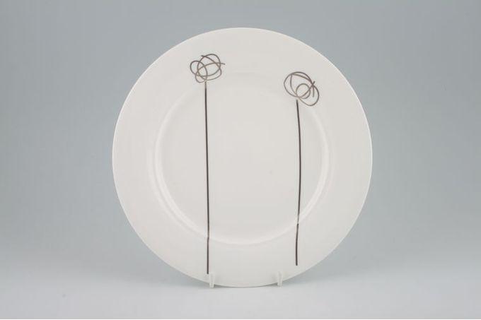 "Royal Doulton Flirtation - Silver Breakfast / Salad / Luncheon Plate 8 7/8"""