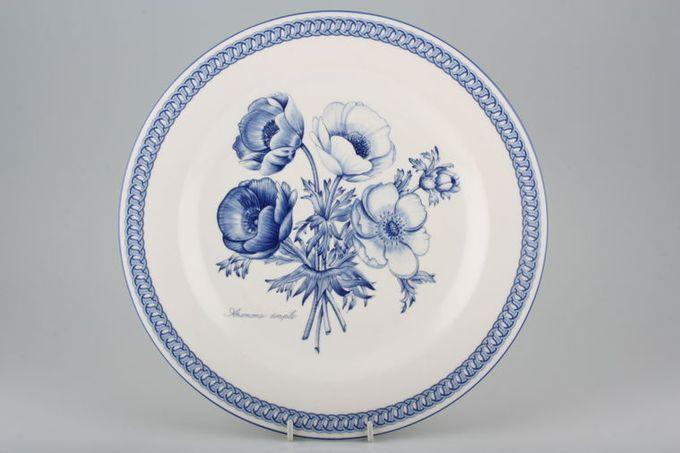 """Royal Doulton Blue Botanic - TC 1223 Dinner Plate 10 1/2"""""""