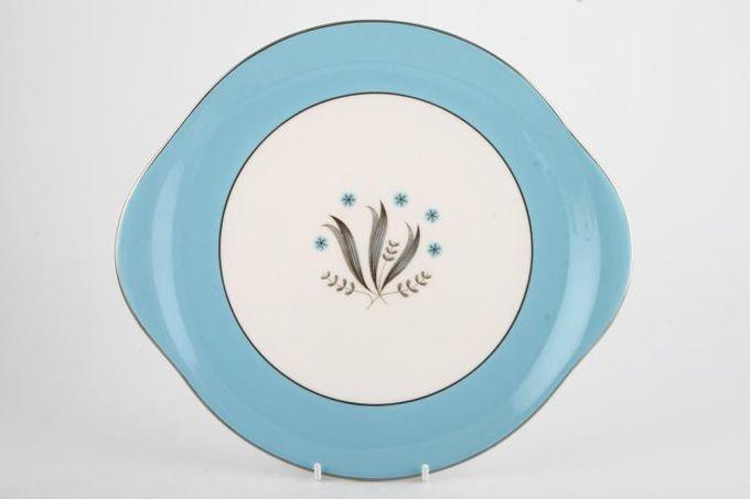 "Royal Doulton Caprice - H4950 Cake Plate Round 10 1/2"""