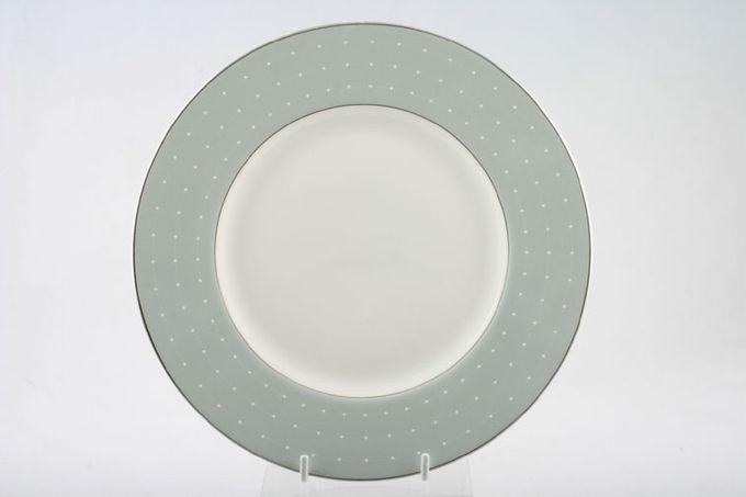 """Royal Doulton Monique Lhuillier - Etoile Platinum Breakfast / Salad / Luncheon Plate Blue 9"""""""