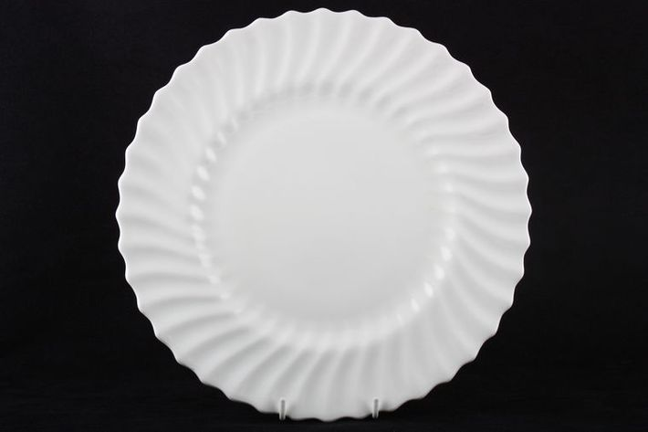 Royal Doulton White Fluted Swirl
