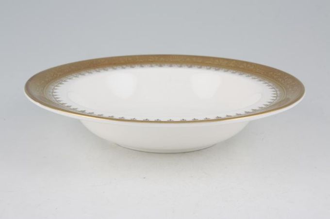Royal Grafton Regal - Gold Rimmed Bowl 9 3/8""