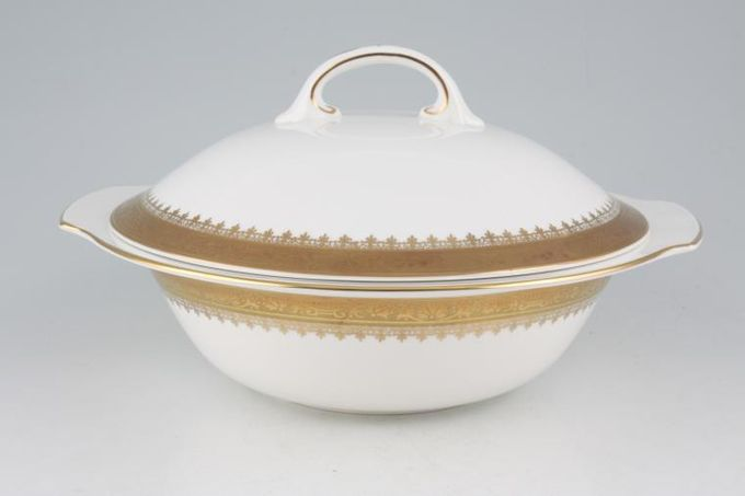 Royal Grafton Regal - Gold Vegetable Tureen with Lid Eared