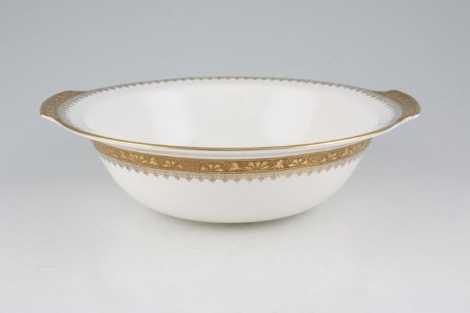 Royal Grafton Regal - Gold Vegetable Dish (Open) Gold Eared 10""