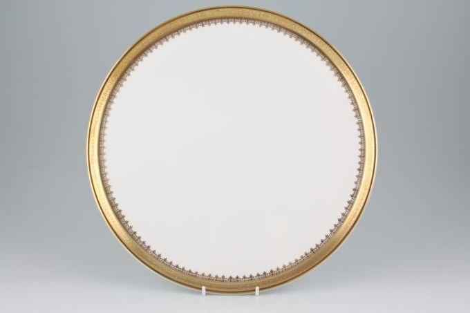 """Royal Grafton Regal - Gold Gateau Plate 12 1/4"""""""
