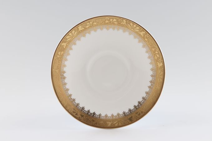 "Royal Grafton Regal - Gold Coffee Saucer Fits Cups 1 3/4"" well 5"""