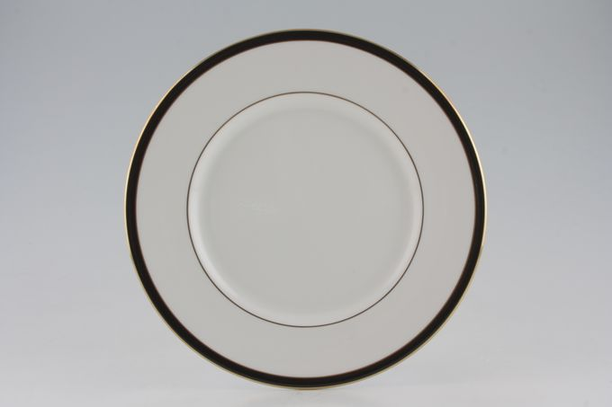 "Royal Grafton Warwick - Black Dinner Plate 10 3/4"""