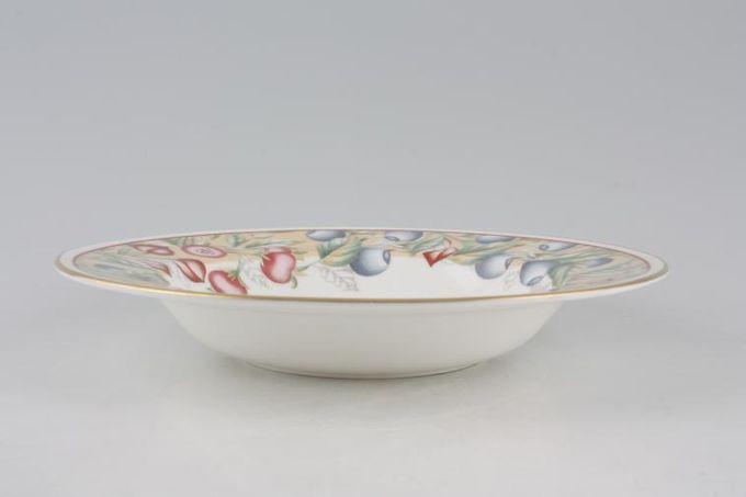 """Royal Grafton Fresco Rimmed Bowl 8 1/4"""""""