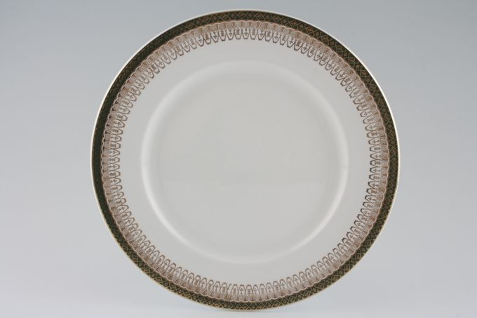 "Royal Grafton Majestic - Green Breakfast / Salad / Luncheon Plate 9 3/4"""