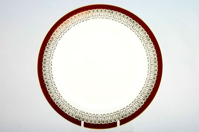 """Royal Grafton Majestic - Red Dinner Plate 9 3/4"""""""
