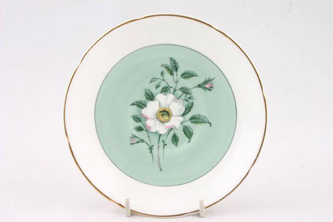 """Royal Grafton Melrose Tea Saucer Flower in Centre, Gold edge 5 1/2"""""""