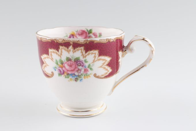 """Royal Grafton Academy - red Coffee Cup 2 3/4 x 2 1/2"""""""