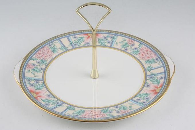 Royal Grafton Sumatra 1 Tier Cake Stand B&B plate