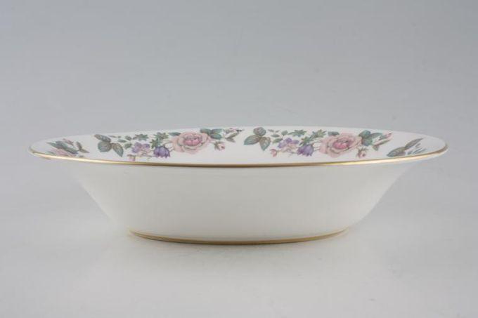 "Royal Grafton Fragrance - straight edge Vegetable Dish (Open) oval 10"""