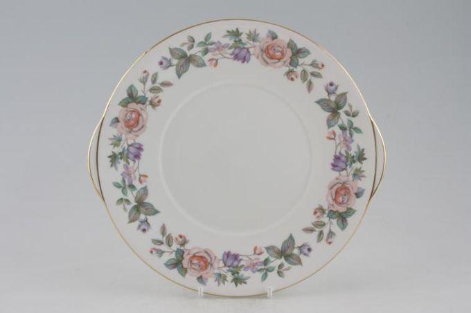 "Royal Grafton Fragrance - straight edge Cake Plate eared 9 3/4"""