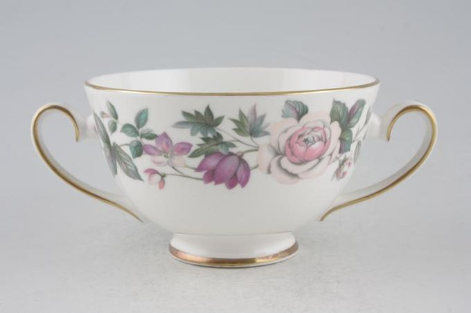 Royal Grafton Fragrance - straight edge Soup Cup 2 handles