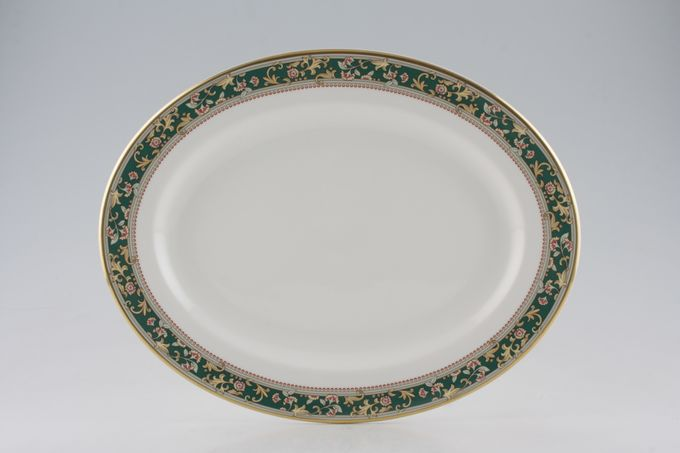 Royal Grafton Chatsworth Oval Plate / Platter 13 1/4""