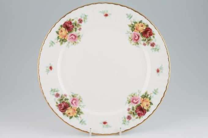 Royal Stafford Bouquet Dinner Plate Fine Gold Edge 10 1/2""