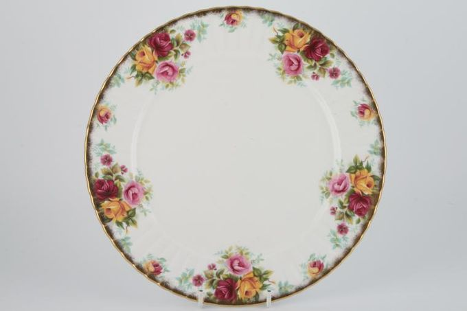 Royal Stafford Bouquet Dinner Plate Heavy Gold Edge 10 1/2""