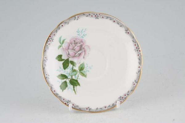 Royal Stafford Roses To Remember - Pink + Grey