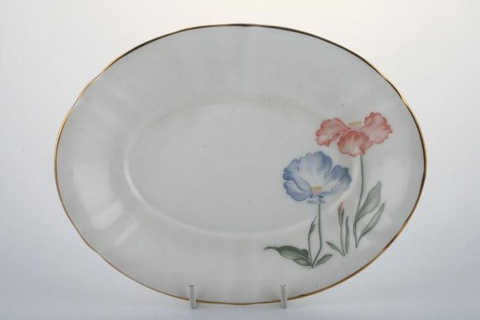 Royal Stafford Ice Poppy Sauce Boat Stand