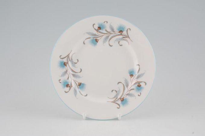 "Royal Standard Caprice - Blue Tea / Side / Bread & Butter Plate 6 3/8"""