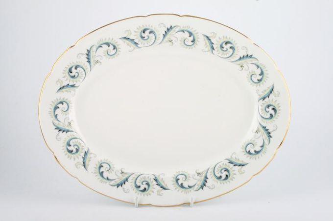 "Royal Standard Garland Oval Plate / Platter 13"""