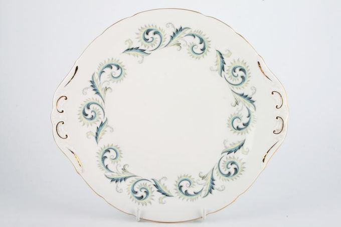 "Royal Standard Garland Cake Plate 10 1/2"""