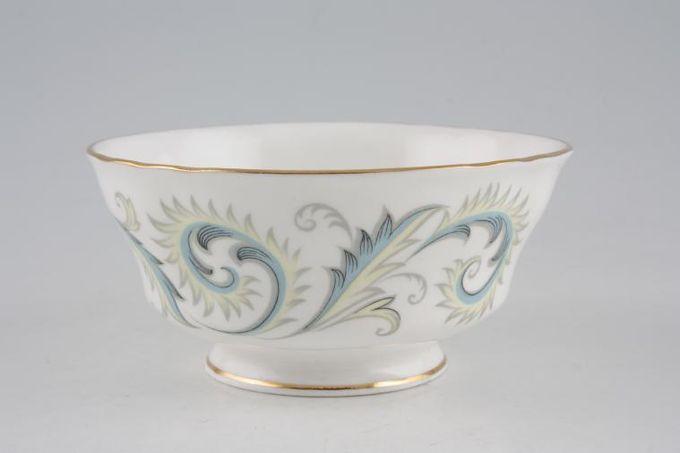 "Royal Standard Garland Sugar Bowl - Open (Coffee) Wavy Edge 4 1/8"""