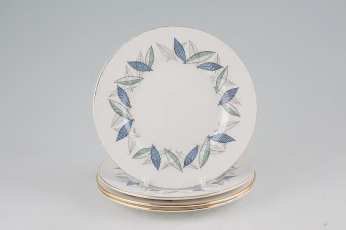 "Royal Standard Trend Tea / Side / Bread & Butter Plates - Set of 6 6 1/4"""