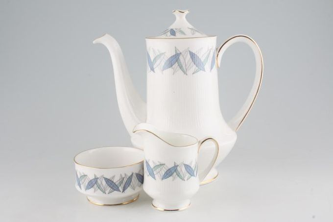 Royal Standard Trend Coffee Pot, Cream and Sugar Bowl Set