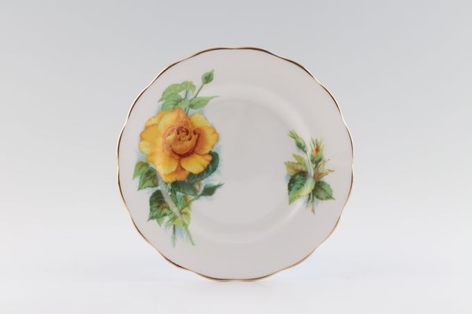 Royal Standard Harry Wheatcroft Roses - Mms Ch Sauvage Tea / Side / Bread & Butter Plate 6 1/2""