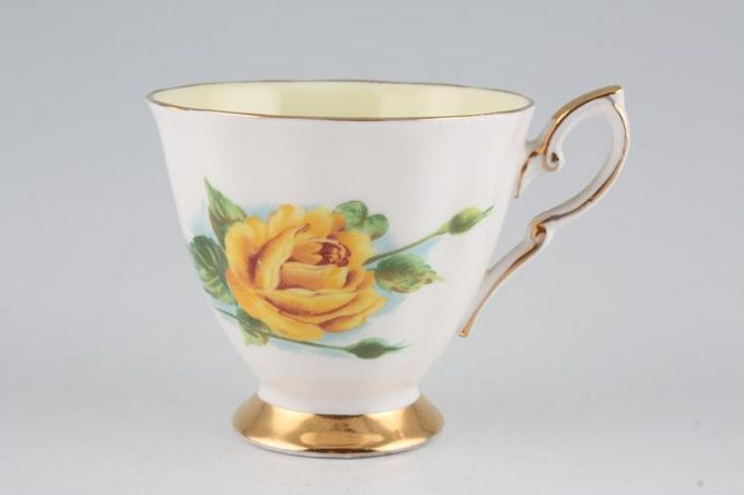 """Royal Standard Harry Wheatcroft Roses - Mms Ch Sauvage Coffee Cup 2 7/8 x 2 3/4"""""""