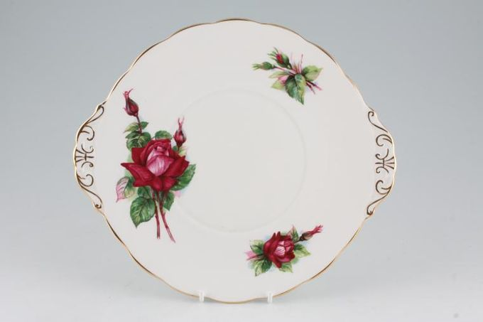 Royal Standard Harry Wheatcroft Roses - Grand Gala Cake Plate 10 1/2""